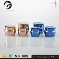 Best Selling aluminum cream jar for cosmetics