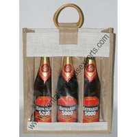 jute wine bags wholesale