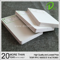 3mm 5mm 8mm 10mm foam sheet pvc gypsum board for Ad board