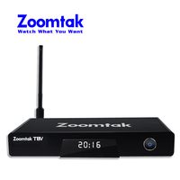 Mpeg4 fta Zoomtak T8V BOX TV Kodi 16.1 tiger satellite receiver