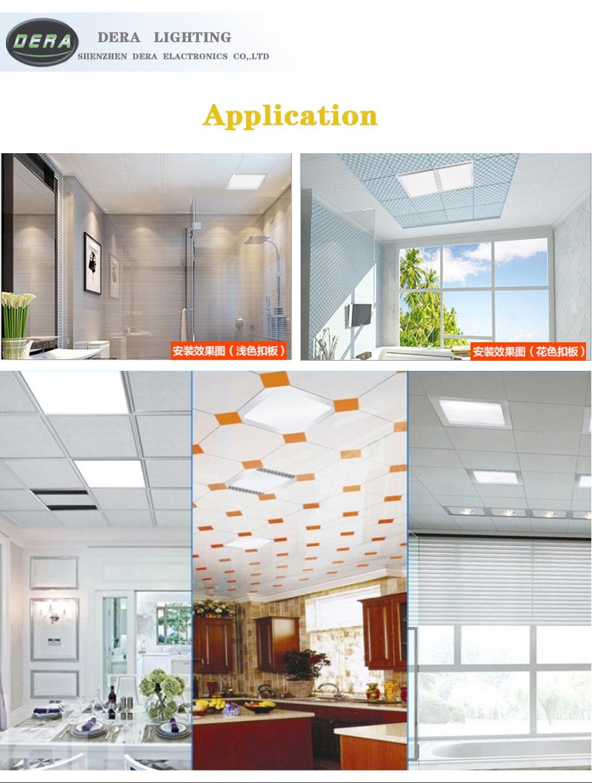 led panel lights 170*170mm 12w LED downlight Square LED panel ...