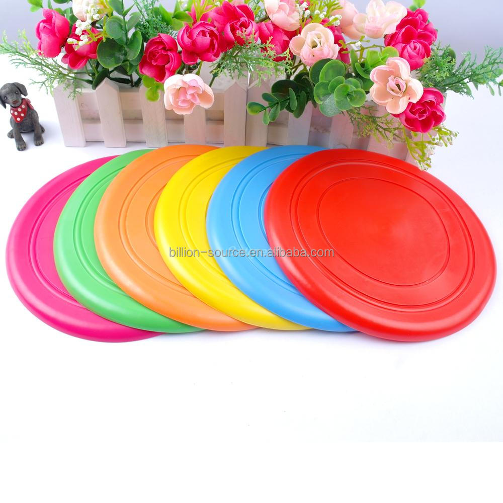 Frisbee Outdoor Training Dog Silicone Flying Disk Disc