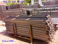 aluminum construction planks