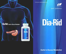Dia-Rid capsules, medicine for diabetes,best herbal,ayurvedic cure,remedy,no side effects