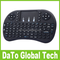 Free DHL Shipping 20PCS/lot i8 Mini Wireless Keyboard Gaming Fly Air Mouse with Touchpad