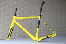 custom painting super light oem carbon road bike frames T1000
