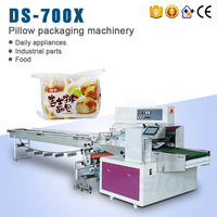 Flow Pack Cheese Bread Horizontal Flow Wrapping Machine