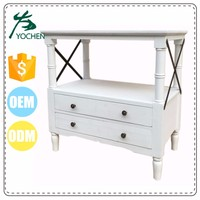 American Modern Design White Chest Of Drawers