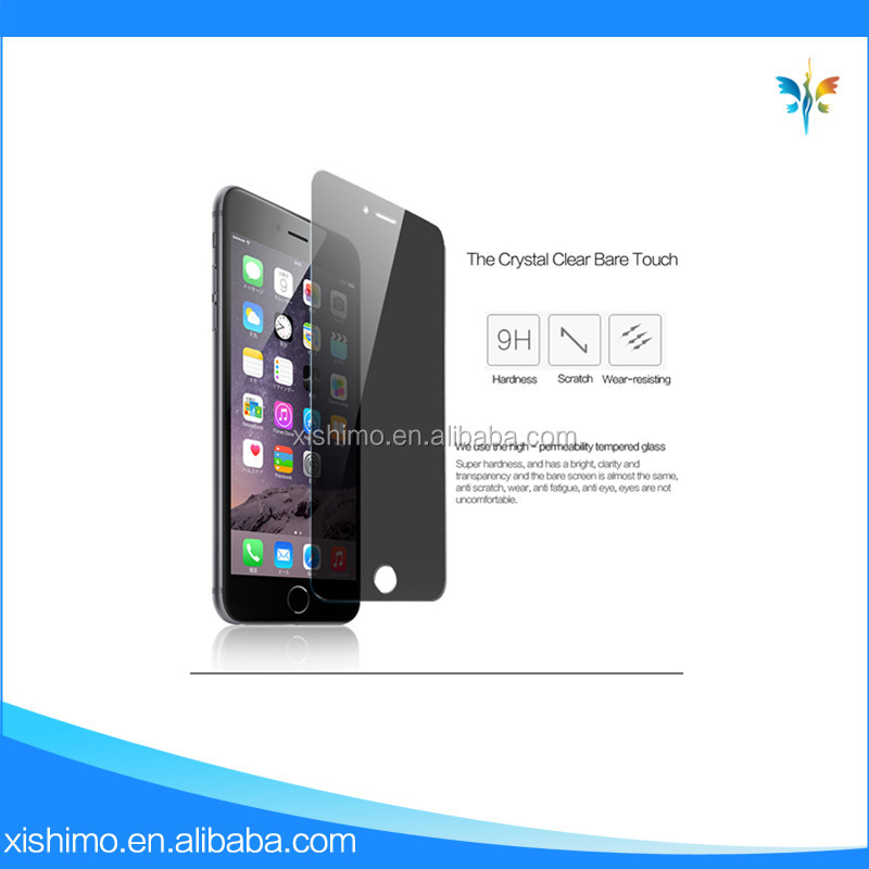 Anti-peep Screen Protector for Iphone 7 Mobile Phone AccessoriesTempered Glass Screen Protective Film