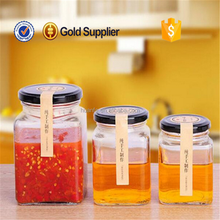 2016 high quality cheap price Storage pickles Canned Bottle preserving jar with colorful screw lid