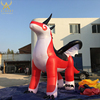 giant inflatable chinese dragon inflatable cartoon character the flying dragon red and white giant advertising inflatable dragon