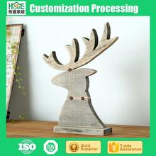 Cheap Continental Handmade Gift Wood Christmas Ornaments of Deer