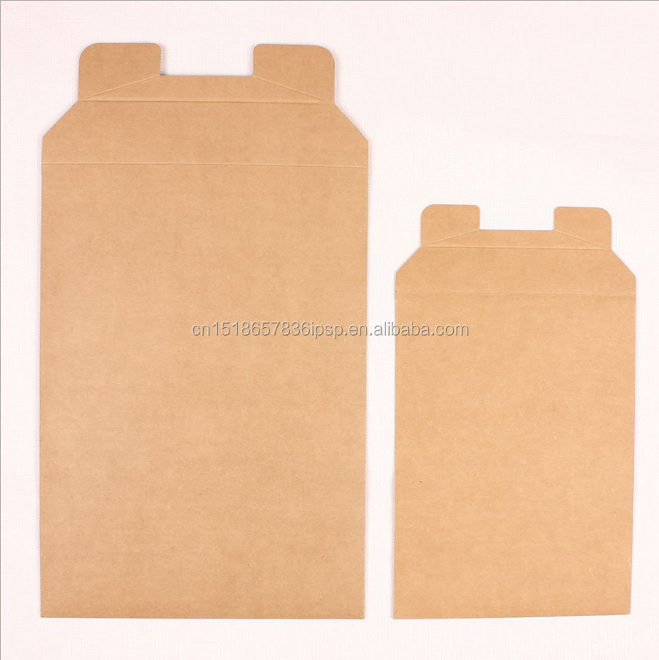 100 pack kraft paper 7x9 cardboard mailer shipping envelopes flat rigid mailers