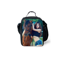 custom high quality insulated cute lunch totes for women