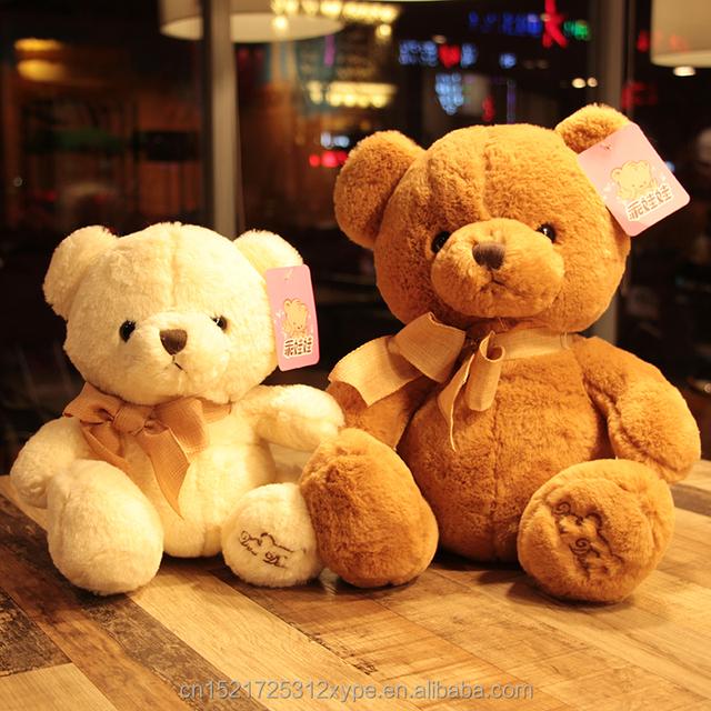 custom teddy bear with bow for children or Christmas gift