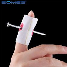 new Newest Style Prank Make Fun Novelty Joke Toy Fake Nail Through Finger Kids Children April Fools Day Toys