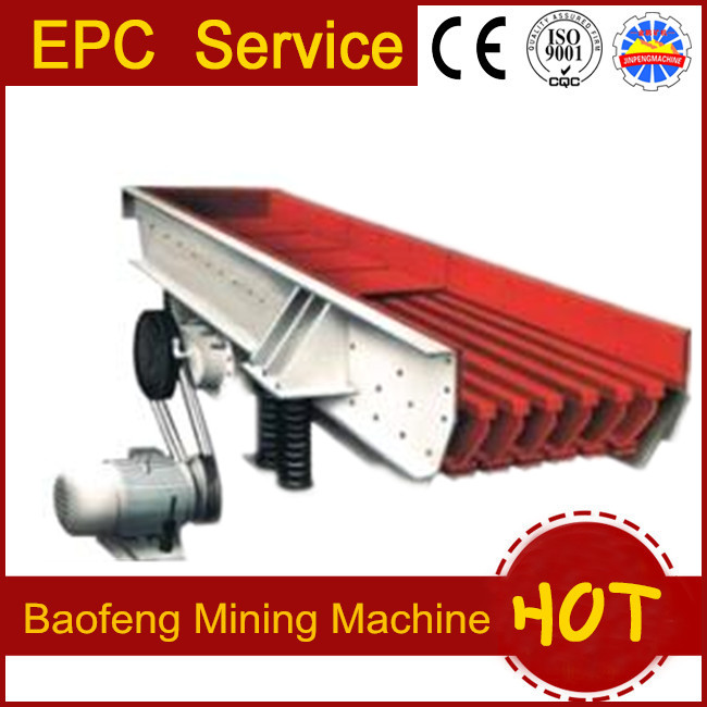 Mineral Machine Vibrating Stick Feeder high efficiency of Yantai Baofeng