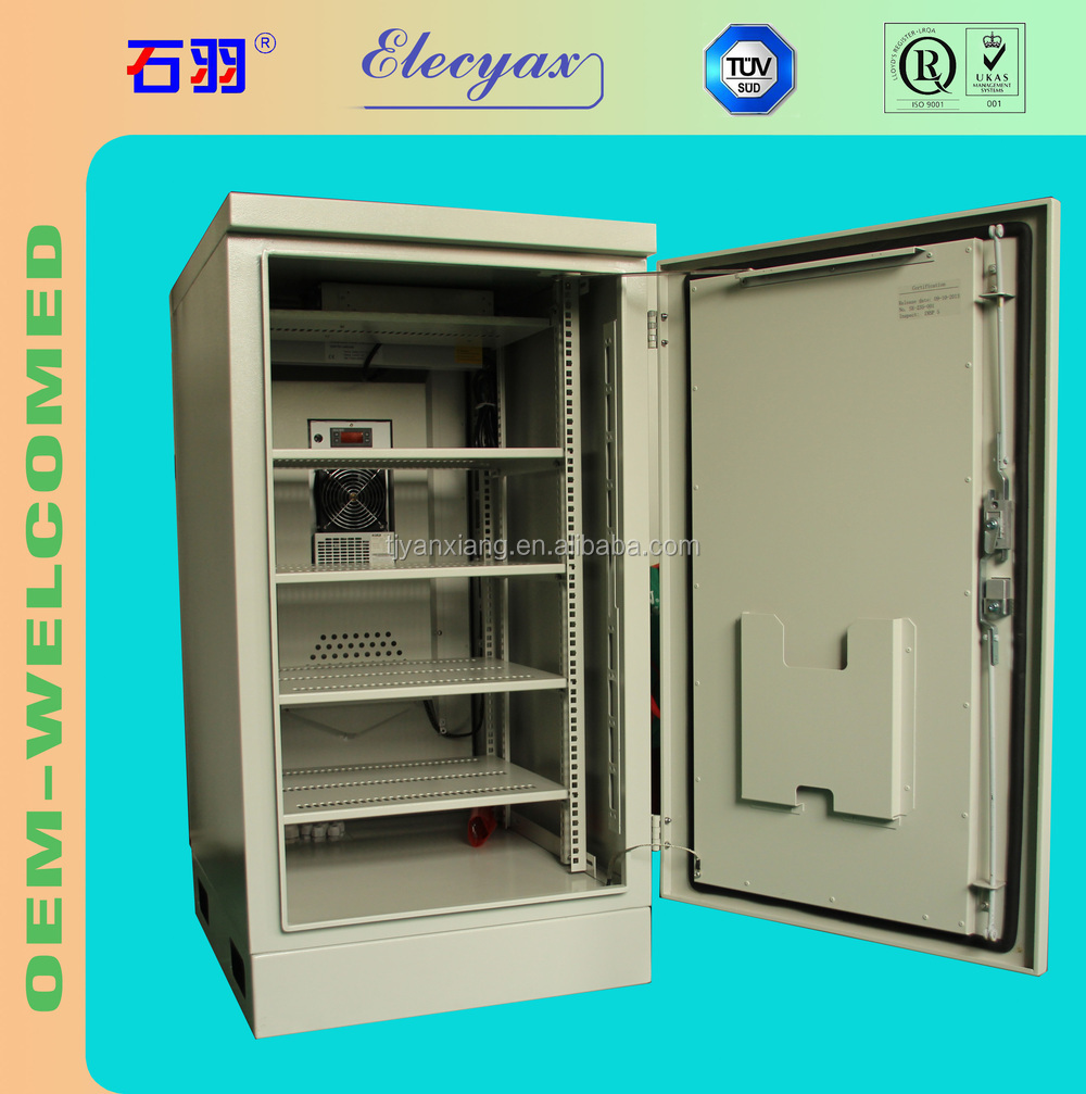 SK-235M outdoor battery rack/fan cooling battery enclosure with lock/storage battery cabinet temperature controlled