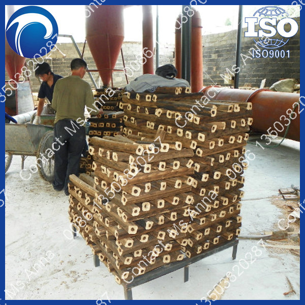 China professional firewood sawdust briquette making machine