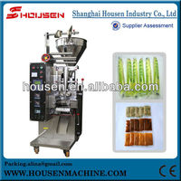 Automatic pouch liquid poly fill machine