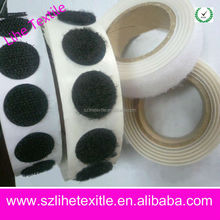 Wholesale roung oval glue dots adhesive hook and loop coins/dots
