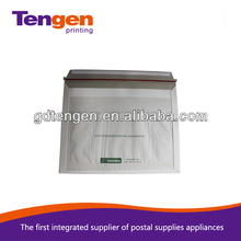 rigid envelope with document pouch