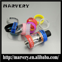 Hot selling in USA !!! silicon vape band decorative and protection the ecig customized your logo