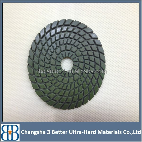 Factory price Diamond tools dry polishing pads for concrete, granite, marble