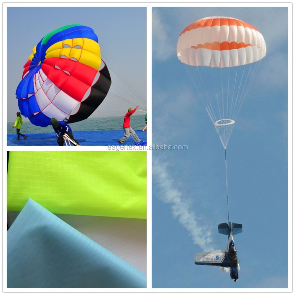 new paragliders parachute windproof <strong>nylon</strong> rip stop fabric