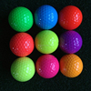 Good quality assorted colored driving range golf ball