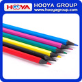wholesale cheap custom plastic promotion color pencil