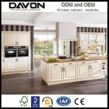 Wholesale cheap china brands factory directly kitchen cupboard high class pvc mebrane cabinets