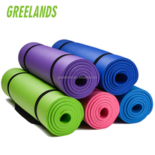 10mm Extra Thick High Density Anti-Tear Gym Fitness Mats 15mm NBR Gymnastics Exercise Mat 20mm Yoga Mat Manufacturer From China