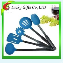 Blue Platinum 5pcs Silicone Kitchen Utensil Silicon Tool Set Cookware