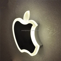 2015 Hot sale interior wall led light with apple design