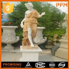 China factory price natural stone hand-craved woman nude carving
