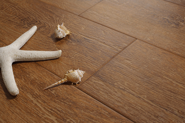 non-slip wood look porcelain tile,wood color ceramic floor tile