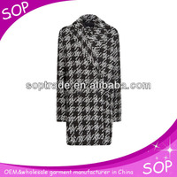 Double-breasted smart casual fancy turkish clothes for girls ladies wholesale china