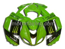 Racing fairings for kawasaki zx6r 636 07 08