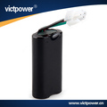 Customized battery pack 2S1P li-ion type 7.4V 3200mah with samsung 18650 battery