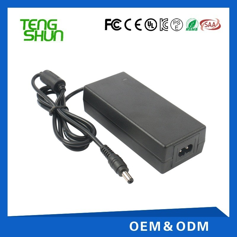 cheap ce fcc saa ul listed 12v 5a desktop cctv power supply/power adapter 12v 5a