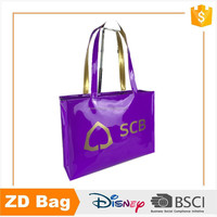 Full Color Printing Pvc Shopping Bag Customized Shopping PVC Zip Lock Bag