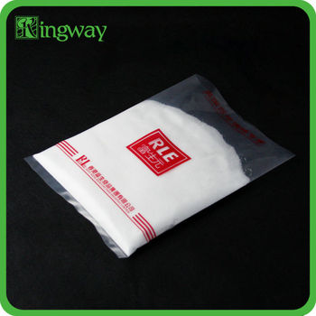 Printed on with logo custom machine price pe printing plastic hdpe bag