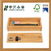 Made in China handmade cheap unfinished natural oak wooden pen case