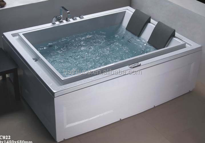 cUPC 2 person jetted tub shower combo,commercial hot tub,standard bathtub prices