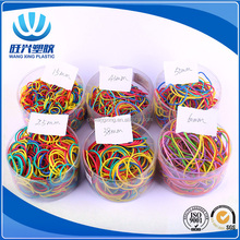 fashion high resistance/different size/ assorted color rubber band