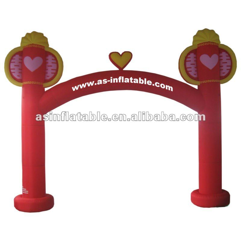 Traditional design and durable advertising arch inflatable event arch