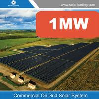 Solar power plant 1MW,solar power stations