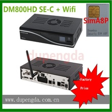 TV signal decoder simA8P DM800HD SE cable receiver