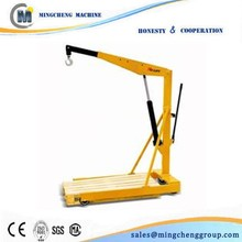 supply mini lifting crane/car engine cranes/foldable shop crane